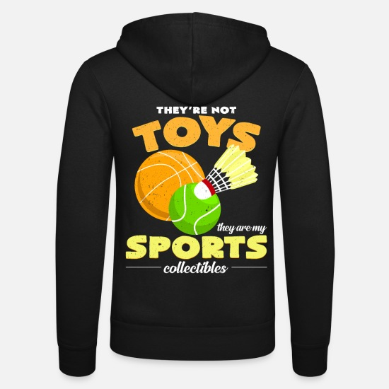 Badminton Hoodies & Sweatshirts - Sports collection - Unisex Zip Hoodie black
