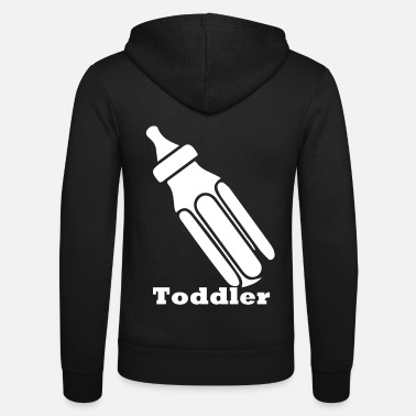 Toddler toddler - Unisex Hooded Jacket by Bella + Canvas
