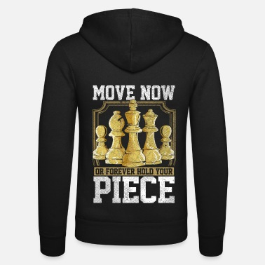 Board Chess board game - Unisex Zip Hoodie