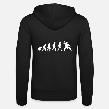 Evolution Evolution Karate Martial Arts - Unisex Zip Hoodie