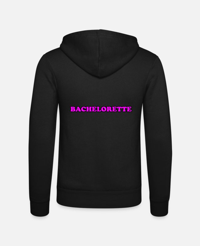 Bachelorette Party Hoodies & Sweatshirts - bachelorette - Unisex Zip Hoodie black