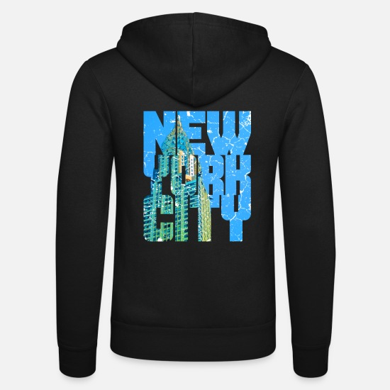 New York Sweat-shirts - New York Manhattan - Veste à capuche unisexe noir