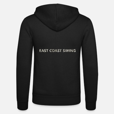 Georgia Swing Dance - EAST COAST - Felpa con zip unisex