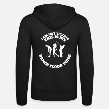 Golf Golf Golfing Apparel Design Funny Gift Idea - Unisex Zip Hoodie