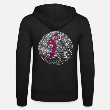 Volley Volley Girl (Perl One Edition) - Unisex zip hoodie