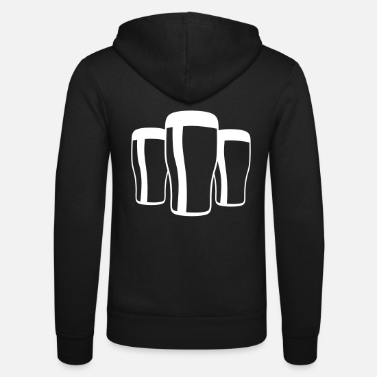 Stout Sweat-shirts - Pint Parade - Veste à capuche unisexe noir