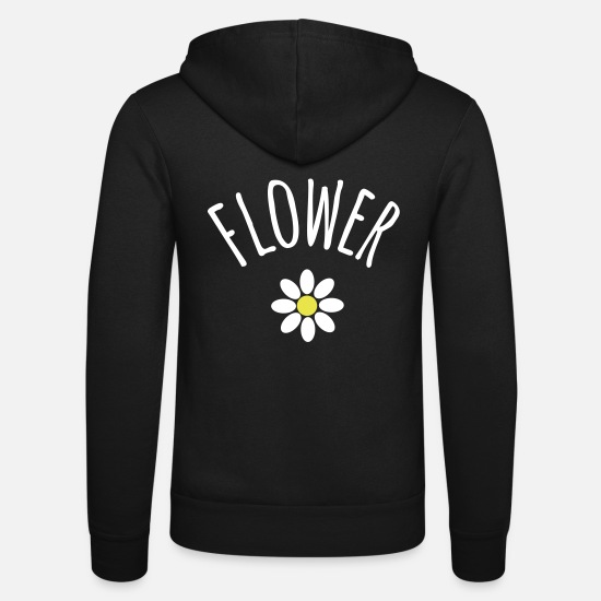 Blume Hoodies & Sweatshirts - Flower Nickname - Unisex Zip Hoodie black