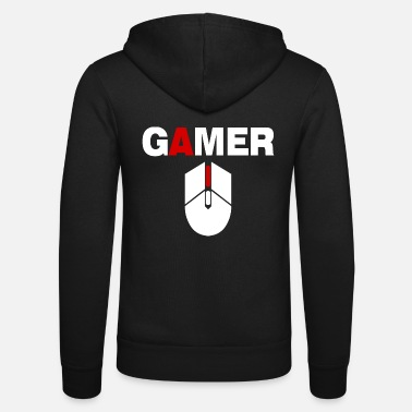 Pc Gamer Mouse PC Gaming - Unisex zip hoodie