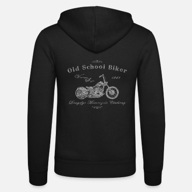 Mc Old School Biker | 1961 - Unisex Kapuzenjacke