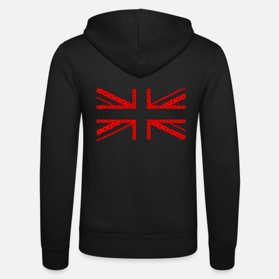 Flag Hoodies & Sweatshirts - Poppies 02 - Unisex Zip Hoodie black