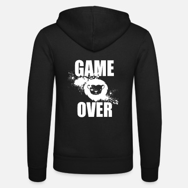 Game Over Gamer - Game Over - Unisex Kapuzenjacke