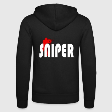 Sniper - Unisex Hooded Jacket by Bella + Canvas
