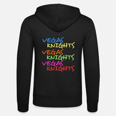 Vegas Knights Vegas nights Las Vegas the metropolis - Unisex Zip Hoodie