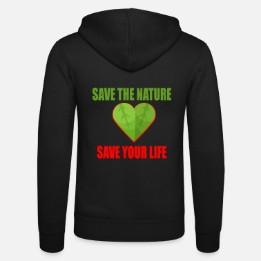 Nature Nature - Conservation - Mother Earth - Unisex Zip Hoodie