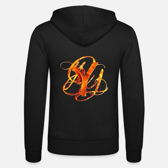 Brand Hoodies & Sweatshirts - Branded Y - Unisex Zip Hoodie black
