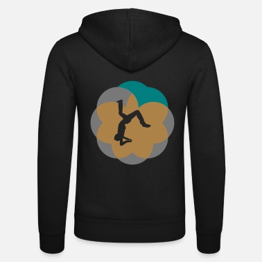 Salto salto jumping tricks - Unisex Hooded Jacket by Bella + Canvas