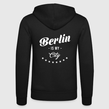 Berlin Berliner - Veste à capuche unisexe Bella + Canvas