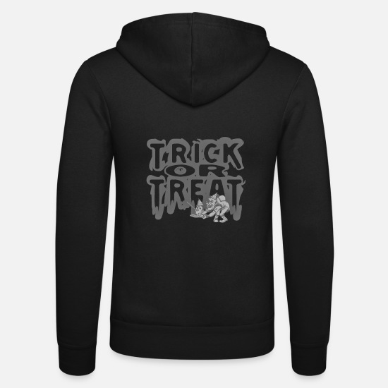 Citrouille Sweat-shirts - Trick Or Treat - Veste à capuche unisexe noir