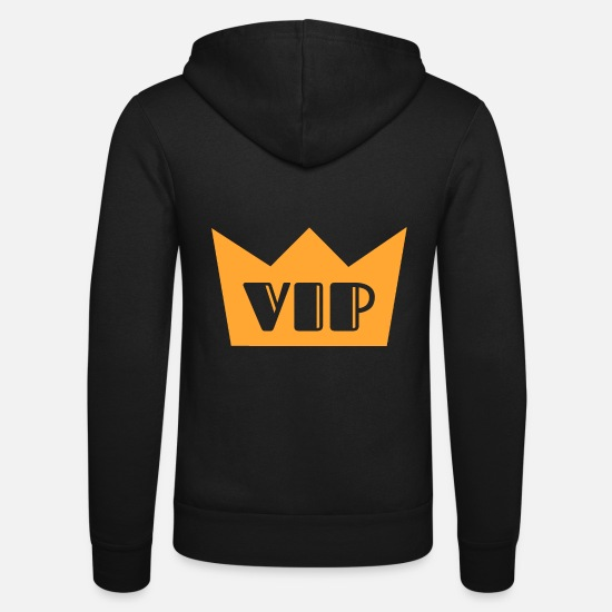 Important Hoodies & Sweatshirts - VIP - Unisex Zip Hoodie black
