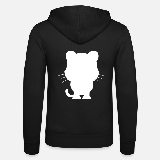 Animal Planet Hoodies & Sweatshirts - Animals Animals Animal Print Nature 14 - Unisex Zip Hoodie black
