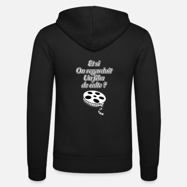 Film AND WHAT WAS A CULT FILM LOOKING FOR? - Unisex Zip Hoodie