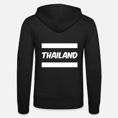 Thailand Thailand - Unisex Hooded Jacket by Bella + Canvas