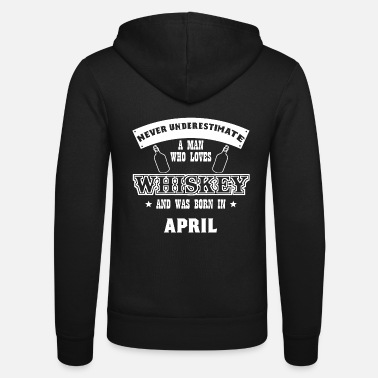 Whisky Whisky Whisky Single Malt Scotch Schnapps Gift - Unisex hættejakke
