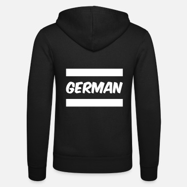 Germanic Tribes German - Unisex Zip Hoodie