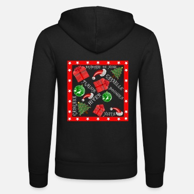 Picture Christmas picture french - Bluza z kapturem Bella + Canvas typu unisex