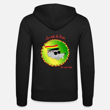 Rasta The rats of Paris - The rasta - Unisex Zip Hoodie