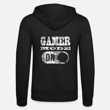 Gamer GAMER MODE ON! GAMER GAMER GAMER GAMER GAMER - Unisex Zip Hoodie