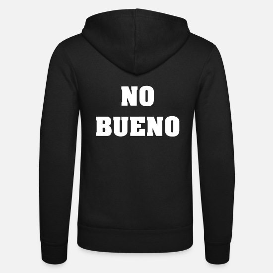 Birthday Hoodies & Sweatshirts - No Thank you. Spanish Spanish - Unisex Zip Hoodie black