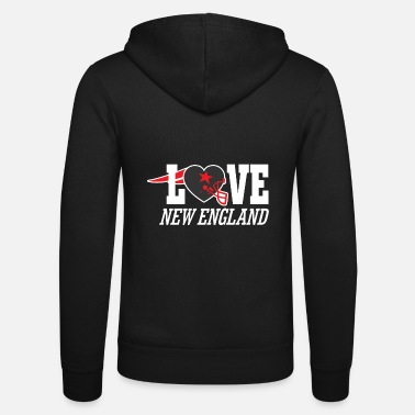 New England love new england - Unisex Zip Hoodie