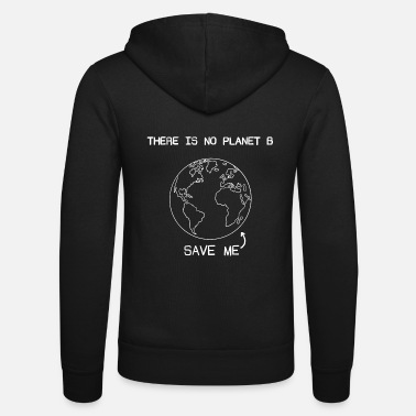 Planet Save the planet - Unisex Kapuzenjacke