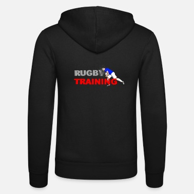 Lyon Rugby Toulousain RUGBY TRAINING - Unisex Zip Hoodie