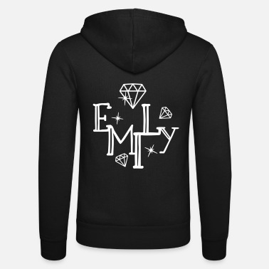 Name Day Name Emily First name Name day - Unisex Zip Hoodie