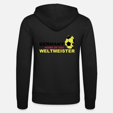Soccer germany home of the weltmeister - Unisex Kapuzenjacke