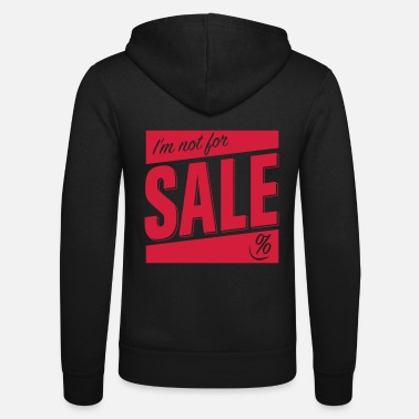 Not for Sale - Unisex Kapuzenjacke