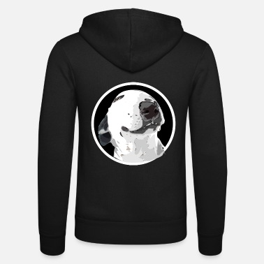 Bullterrier bullterrier - Unisex Hooded Jacket by Bella + Canvas