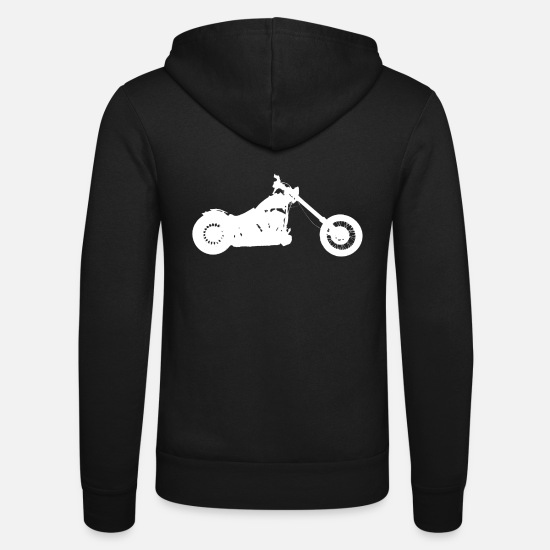 Chopper Sweat-shirts - chopper softail - Veste à capuche unisexe noir