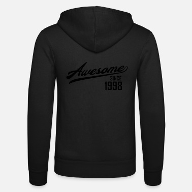 Since Awesome Since 1998 - Luvjacka unisex från Bella + Canvas