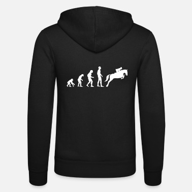 Show Jumping Evolution Show Jumping - Unisex Zip Hoodie