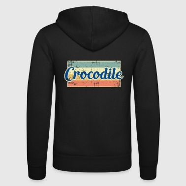 Crocodile crocodile - Unisex Hooded Jacket by Bella + Canvas