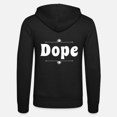 Stoner Dope - Unisex Hooded Jacket by Bella + Canvas