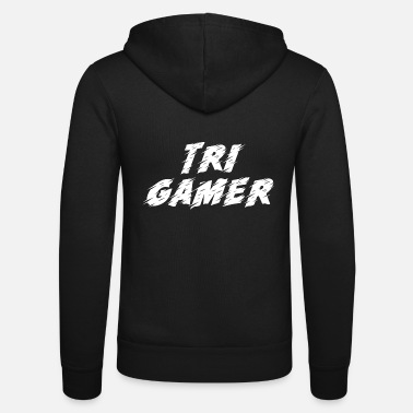 Internet Game Gaming Gamer - Unisex Kapuzenjacke