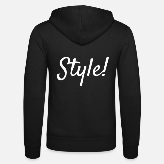 Birthday Hoodies & Sweatshirts - Style! - Unisex Zip Hoodie black