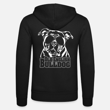 Bulldog Old English Bulldog køligt - Unisex hættejakke