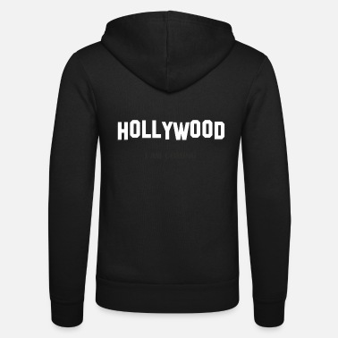 Hollywood HOLLYWOOD - Unisex hoodie van Bella + Canvas