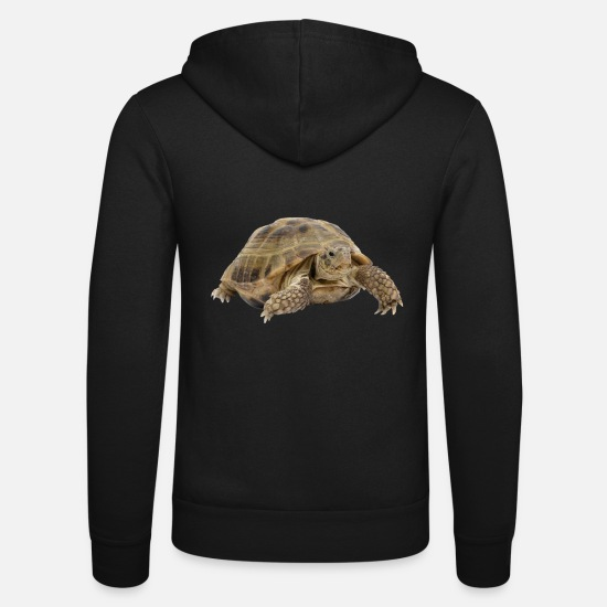 Turtle Hoodies & Sweatshirts - turtle tortoise animals animals7 - Unisex Zip Hoodie black