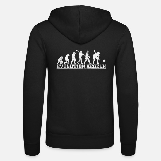 Sport De Bar Sweat-shirts - Cone Evolution Gift - Veste à capuche unisexe noir